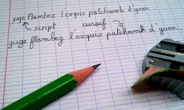 Le pangramme, un jeu d'écriture à la mode