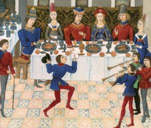 Dresser la table - une planche et deux tréteaux