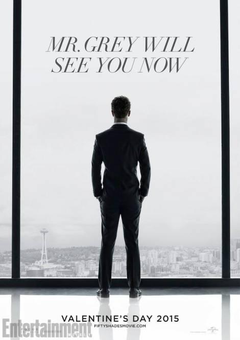 Affiche du film 50 nuances de Grey - Sortie prévue le 14 février 2015