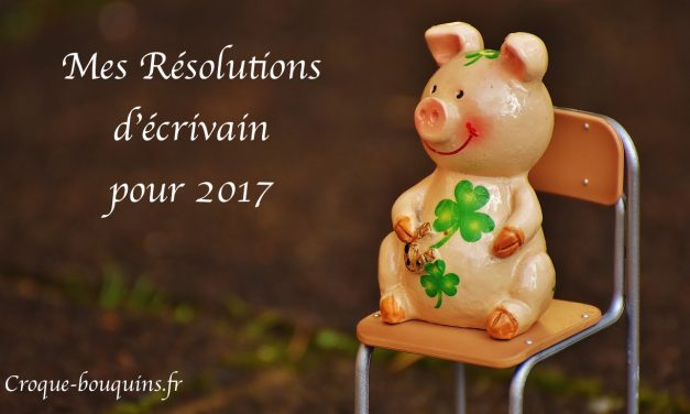 Les résolutions de l'écrivain 2017