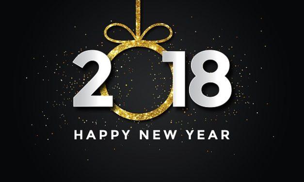 Bonne année 2018 à toutes et à tous !