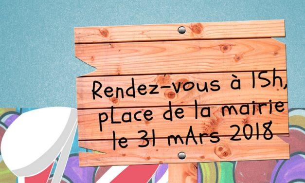 Chasse aux oeufs de Pâques 2018 de Saint Médard