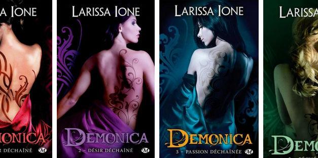 Saga érotique : Démonica de Larissa Ione