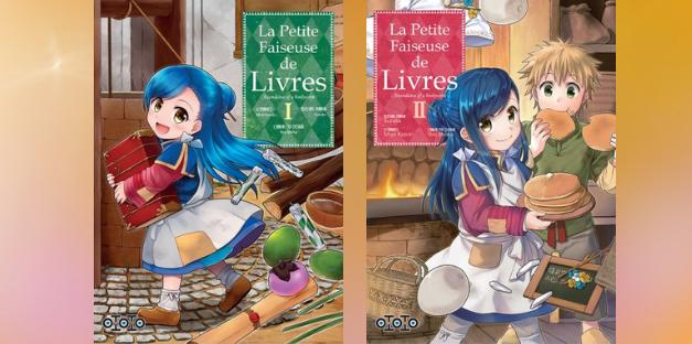 Saga manga : La petite faiseuse de Livres
